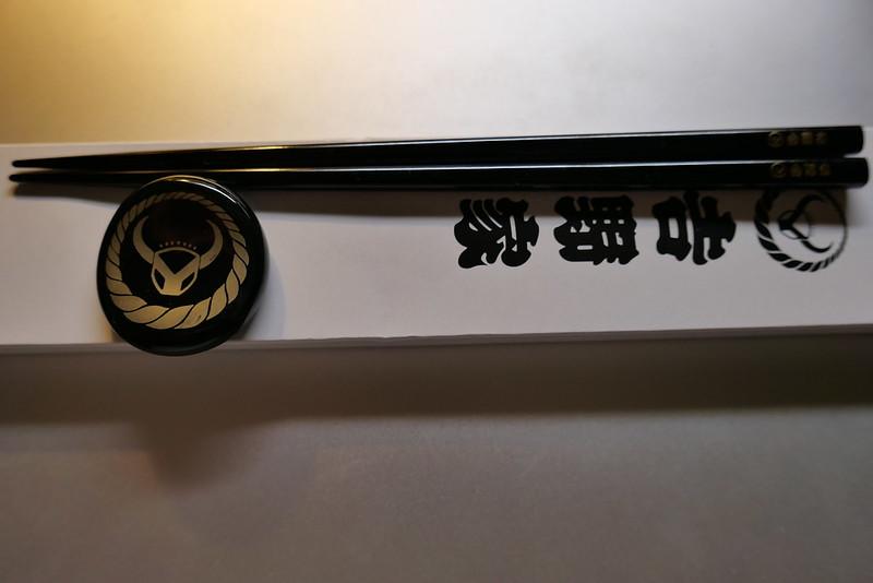 吉野家 箸と箸置き