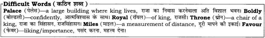 Uttankas Gurudakshina RBSE Class 10 English Notes 4