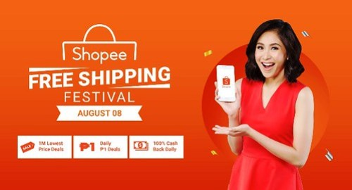 Shopee Free Shipping Festival 8.8