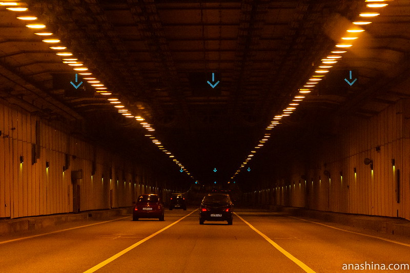 Тоннель под фарватером, КАД, дамба, Санкт-Петербург