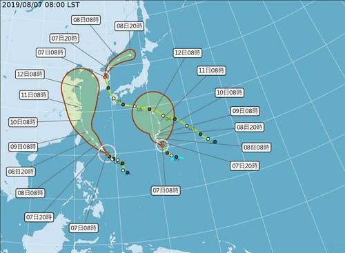 利奇馬,台灣,颱風,強颱,西太平洋,氣象局,