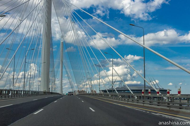 ЗСД. Мост через Петровский канал