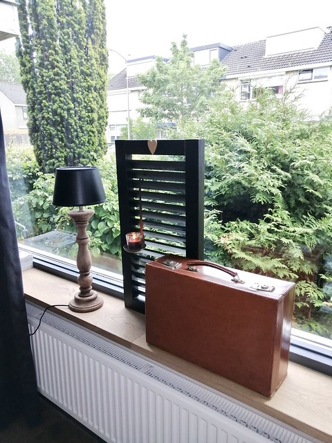 Luik balusterlamp koffer vensterbank