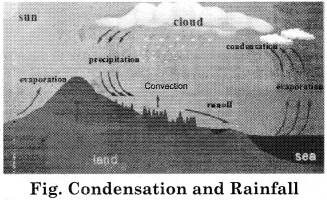 RBSE Solutions for Class 11 Physical Geography Chapter 15 Condensation and Rainfall 1