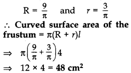 Important Questions for Class 10 Maths Chapter 13 Surface Areas and Volumes 75
