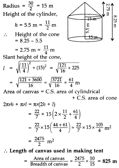 Important Questions for Class 10 Maths Chapter 13 Surface Areas and Volumes 65