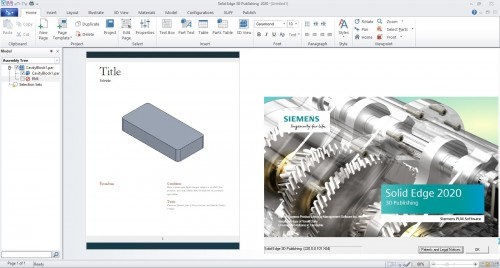 Siemens Solid Edge 2020 Technical Publications full