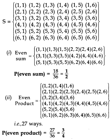 Important Questions for Class 10 Maths Chapter 15 Probability 19