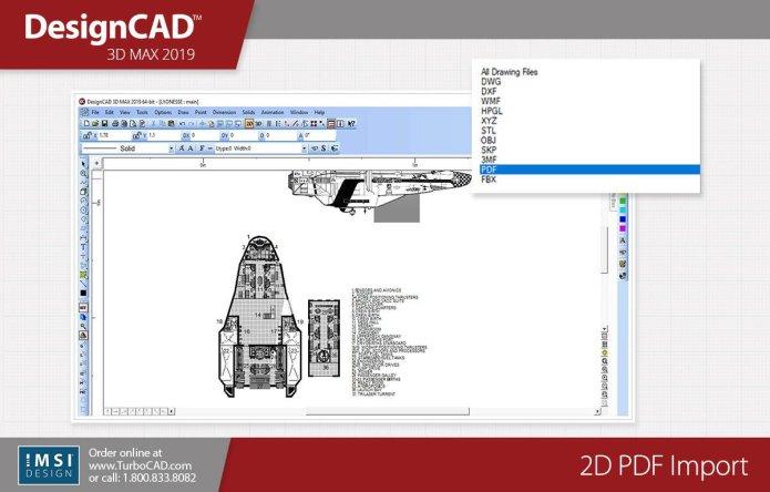 Design with IMSI DesignCAD 3D Max 2019 x64 full license