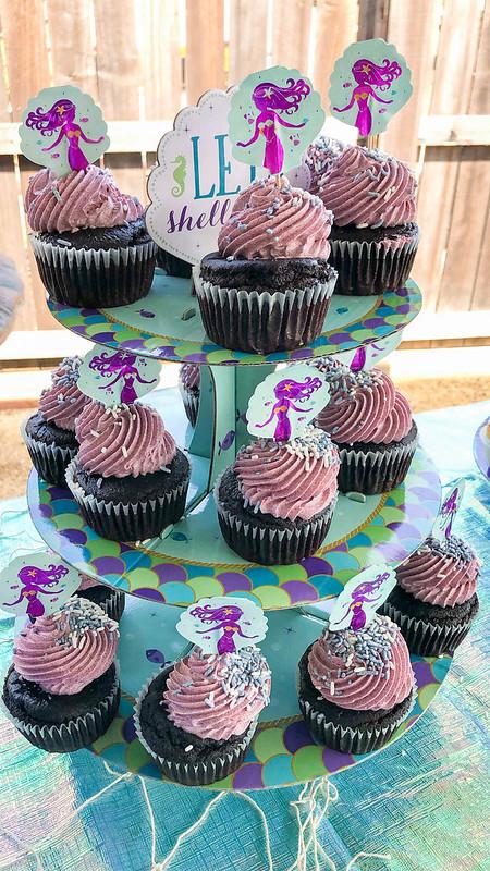 Gluten-free cupcakes from Pushkin's Bakery!