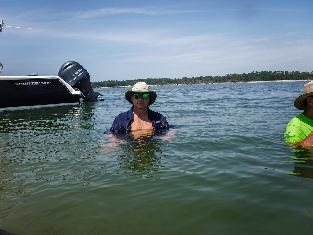 Station Creek Falls to Capers Island with LCU-139
