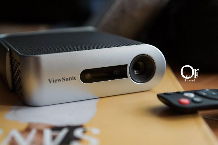 投影機開箱 Viewsonic m1+ 聚會必備投影機,全面升級支援鏡像投影,運用 Airplay 輕鬆享有大螢幕看球賽及電影