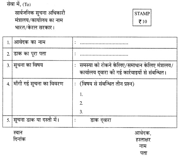 HSSlive Plus One Hindi Textbook Answers Unit 1 Chapter 3 यह हमारा अधिकार है 1