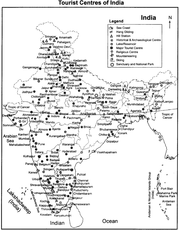 RBSE Solutions for Class 11 Indian Geography Chapter 3 India Cultural Unity in Geographical Diversity 2