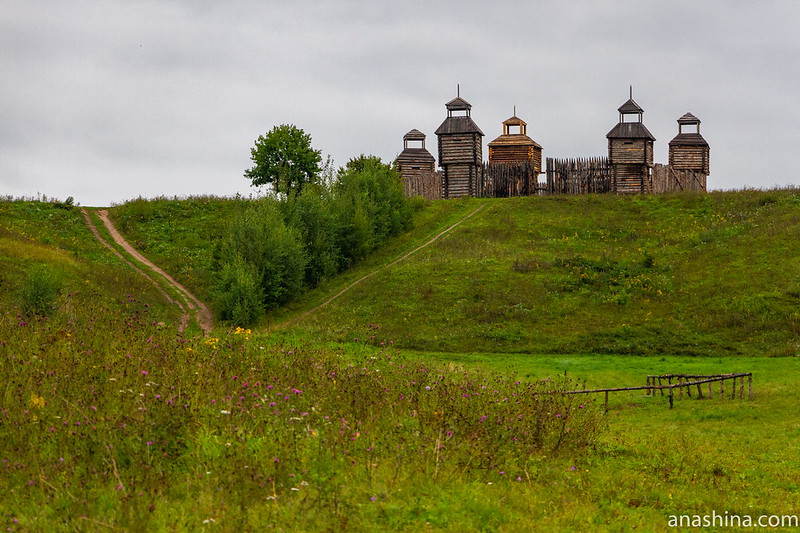 Древнерусская крепость, Александрова гора, Переславль-Залесский