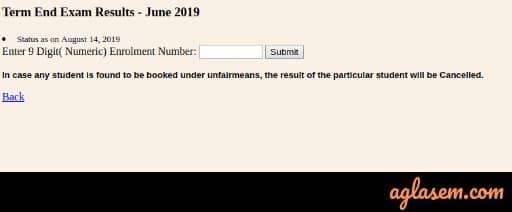 ignou result june 2019