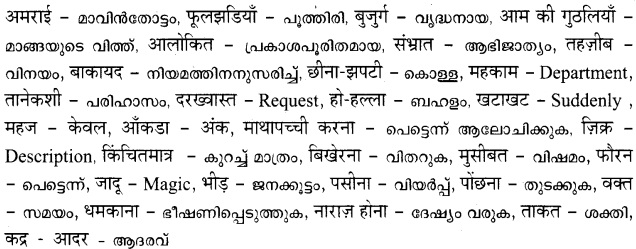 HSSlive Plus One Hindi Textbook Answers Unit 3 Chapter 9 आनंद की फूलझडियाँ 2