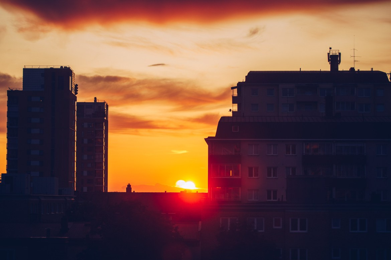 Eldig solnedgång - reaktionista.se