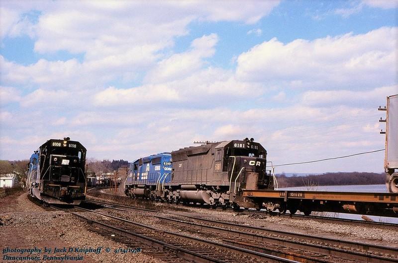 CR 6399-6181, Mail 9, Duncannon, PA. 4-14- 1978