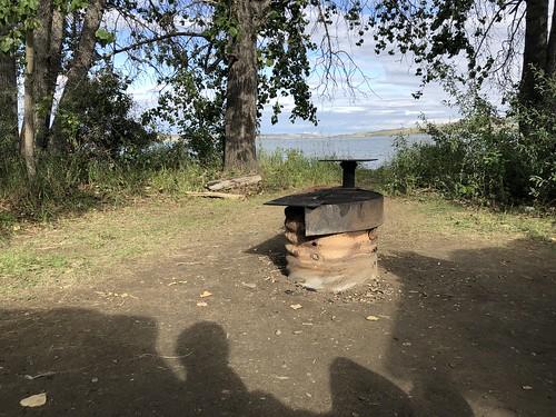 Saskatchewan Landing - the fire pit