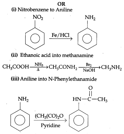 CBSE Previous Year Question Papers Class 12 Chemistry 2014 Delhi Set I Q27.2