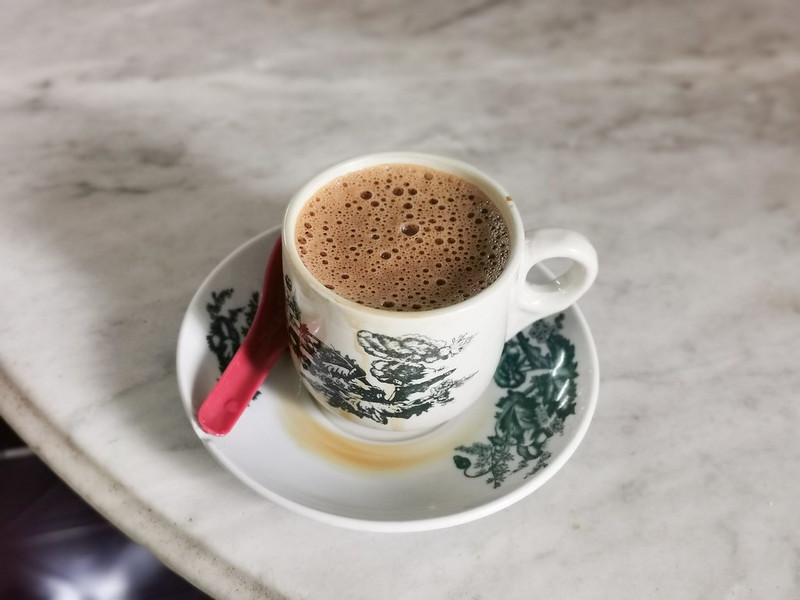 ipoh white coffee from sin yoon loong