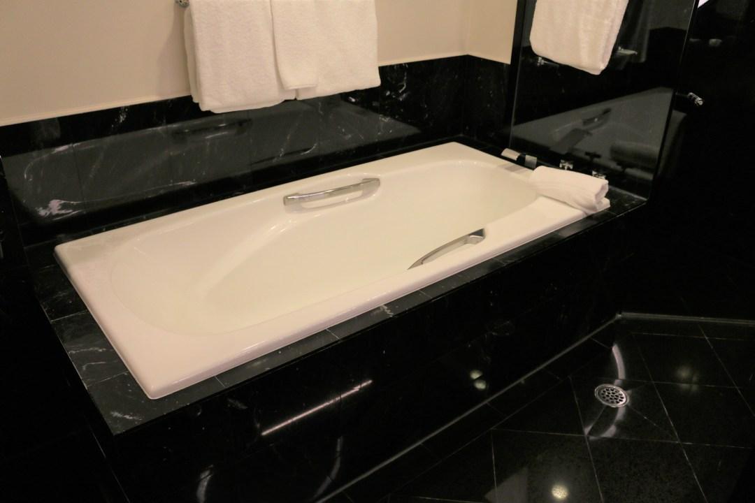 Bathroom at the Sheraton Grand Sydney