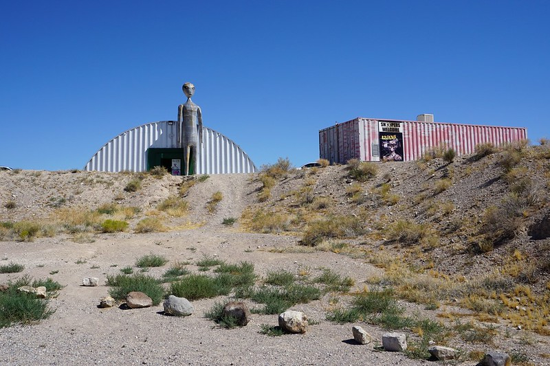 Alien Research Center - Nevada State Route 375, aka the Extraterrestrial Highway, July 2019