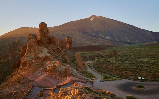 El Teide desde Roques de García