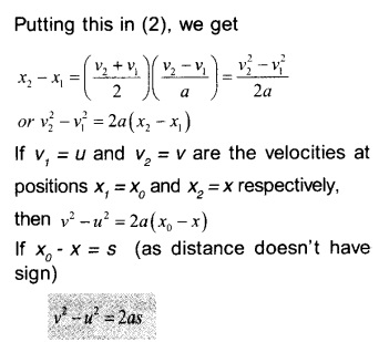HSSlive Plus One Physics Notes Chapter 3 Motion in a Straight Line 18