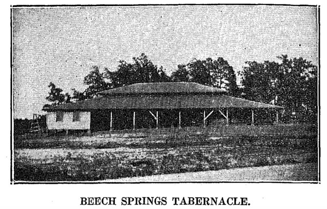 Beech Springs Tabernacle 1934