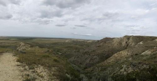 Grasslands National Park West Block -70 Mile Butte view