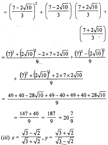 ML Aggarwal Class 9 Solutions for ICSE Maths Chapter 1 Rational and Irrational Numbers Chapter Test 19