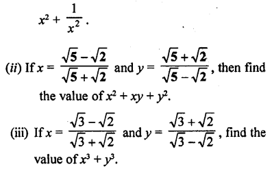 ML Aggarwal Class 9 Solutions for ICSE Maths Chapter 1 Rational and Irrational Numbers Chapter Test 15