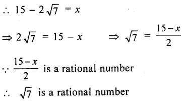ML Aggarwal Class 9 Solutions for ICSE Maths Chapter 1 Rational and Irrational Numbers Chapter Test 7