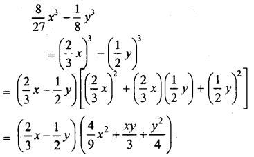 ML Aggarwal Class 9 Solutions for ICSE Maths Chapter 4 Factorisation Chapter Test 1
