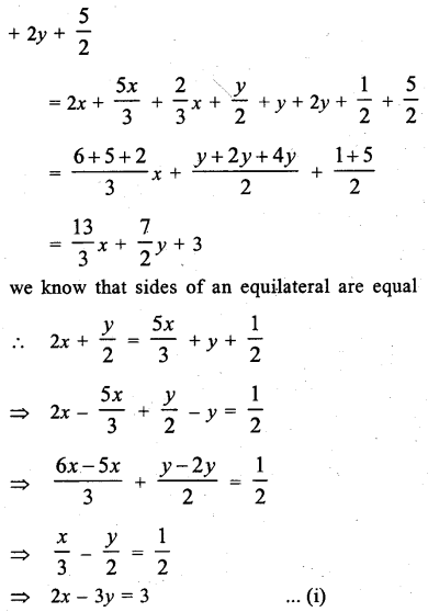 ML Aggarwal Class 9 Solutions for ICSE Maths Chapter 6 Problems on Simultaneous Linear Equations Chapter Test 9