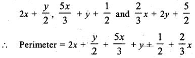 ML Aggarwal Class 9 Solutions for ICSE Maths Chapter 6 Problems on Simultaneous Linear Equations Chapter Test 8