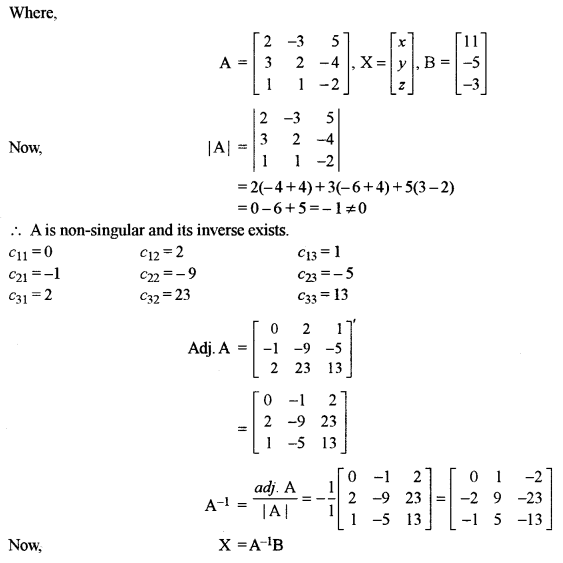 ISC Class 12 Maths Previous Year Question Papers Solved 2018 Q10