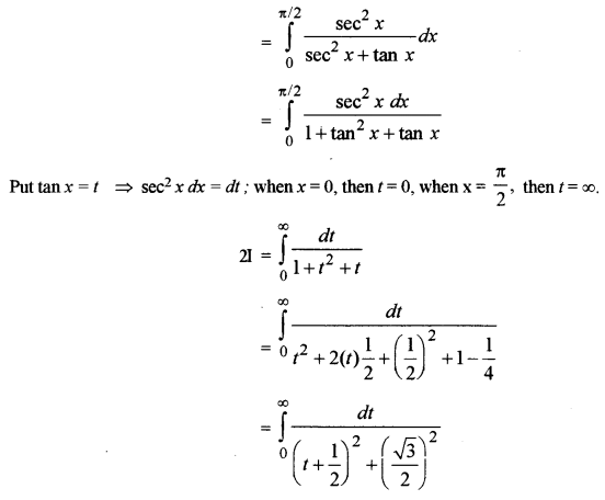 ISC Class 12 Maths Previous Year Question Papers Solved 2018 Q13.4