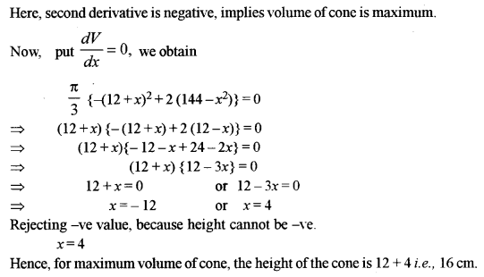 ISC Class 12 Maths Previous Year Question Papers Solved 2018 Q12.3