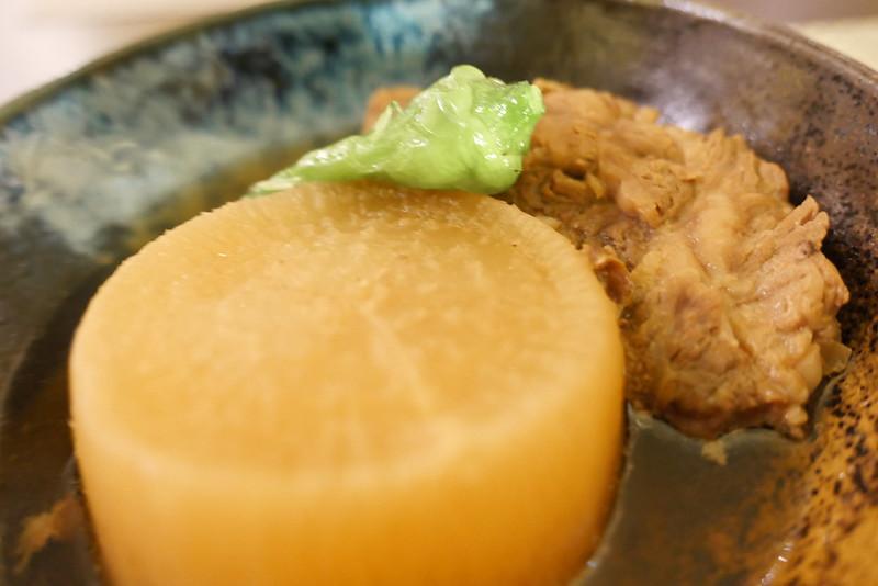 柔らか和牛すじ大根 soft wagyu beef tendon daikon radish