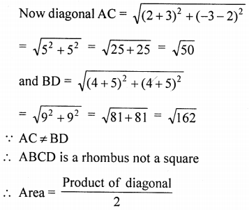 ML Aggarwal Class 9 Solutions for ICSE Maths Chapter 19 Coordinate Geometry Chapter Test 34