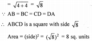 ML Aggarwal Class 9 Solutions for ICSE Maths Chapter 19 Coordinate Geometry Chapter Test 32