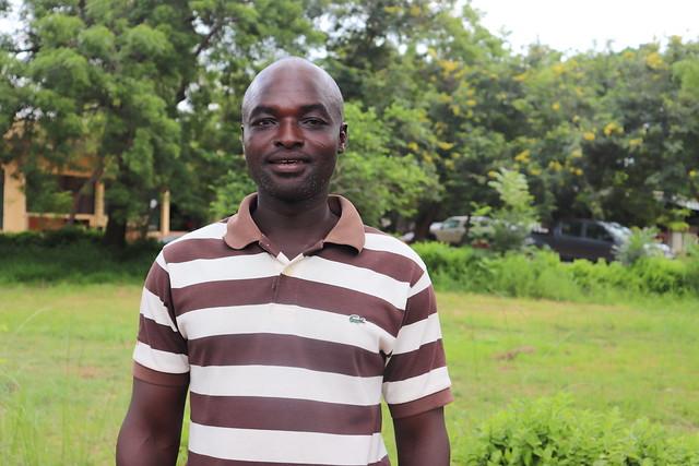 Bartholomew Vouzie, one of the farmers working with Africa RISING in Goli Community in Upper West Region, Northern Ghana. Photo credit: Wilhelmina Ofori-Duah-Duah/IITA.
