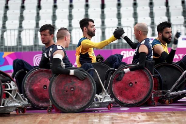 Rúgbi em cadeira de rodas - Jogos Parapan-Americanos Lima 2019