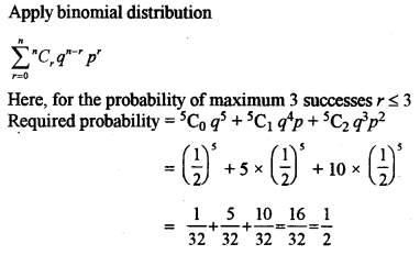ISC Class 12 Maths Previous Year Question Papers Solved 2015 Q12.1
