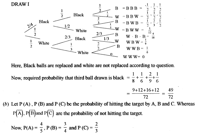 ISC Class 12 Maths Previous Year Question Papers Solved 2015 Q8