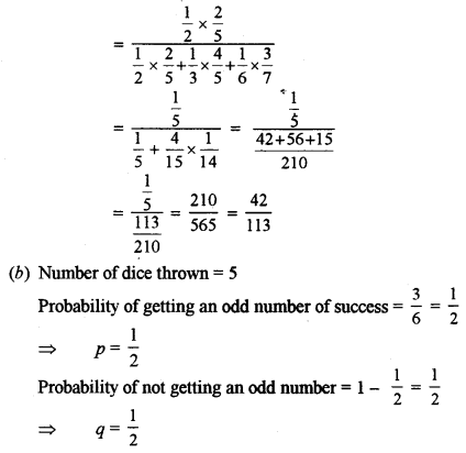 ISC Class 12 Maths Previous Year Question Papers Solved 2015 Q12