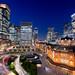 Urban Landscape of Tokyo Marunouchi in Twilight